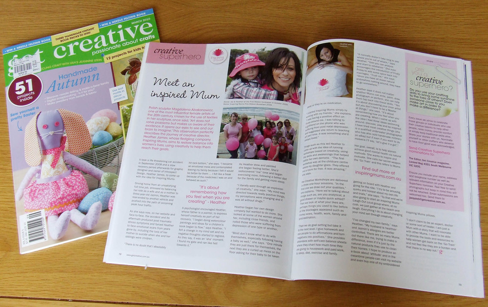 2010 Get Creative Magazine (Spotlight)