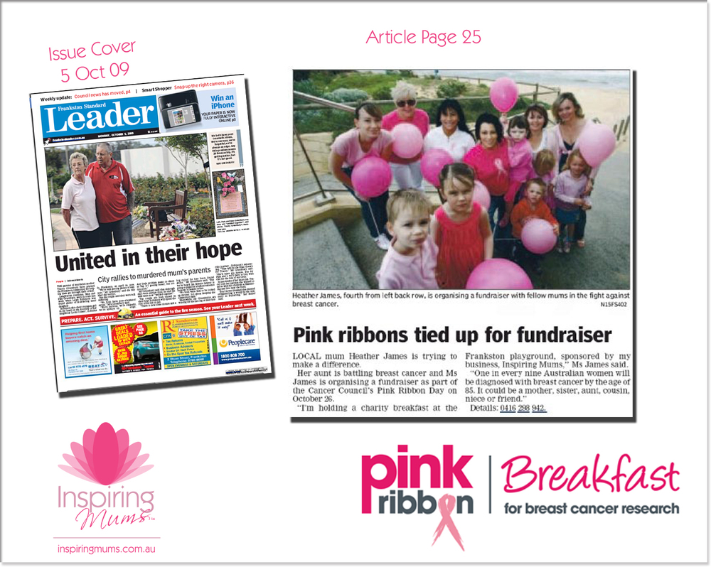 Inspiring Mums Pink Ribbon Article 5Oct09.jpg
