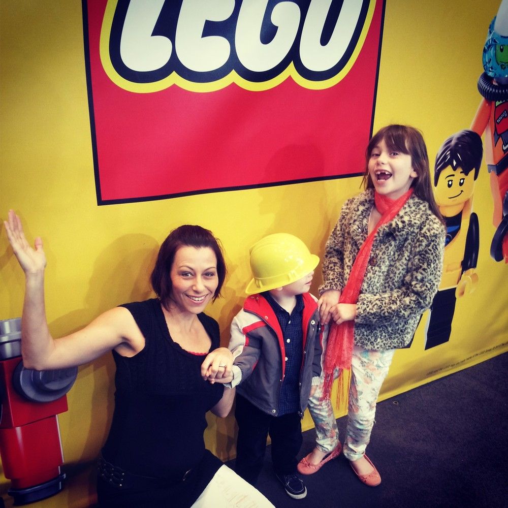 Heather James, Inspiring Mums® & kids at LEGO® (Eastland Shopping Centre)