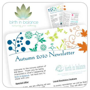 Birth Balance Autumn Newsletter Feature