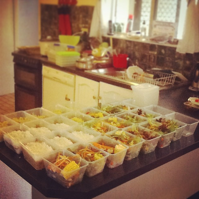 How to Shop, Cook & Prep Meals for 1 Week: Salads, Curry, Stir Fry