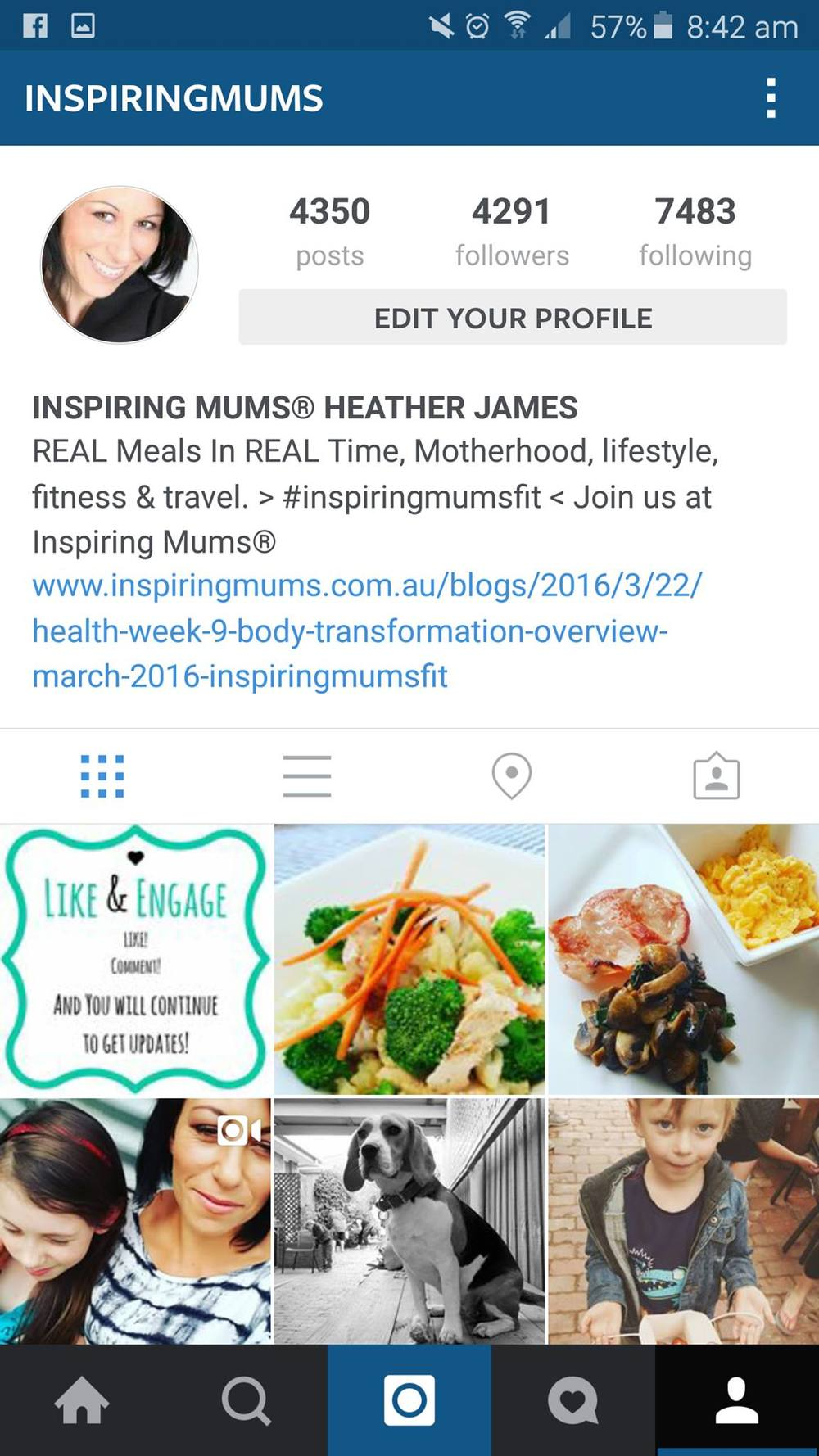https://www.instagram.com/inspiringmums/ |  @inspiringmums |  #inspiringmums  |  #inspiringmumsfit