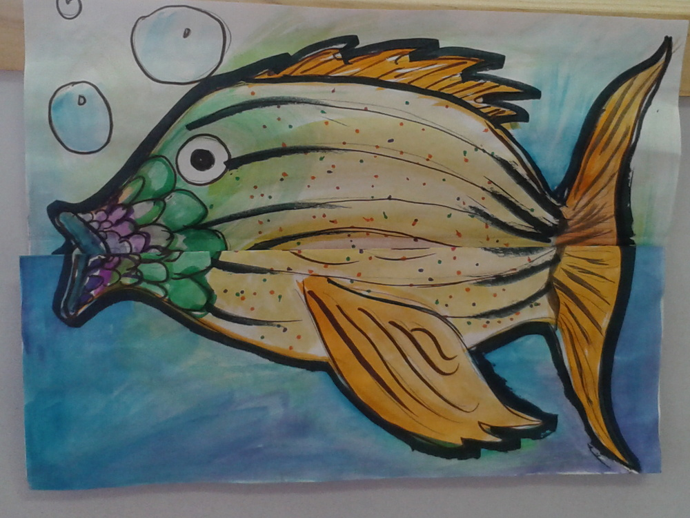 Fin-tastic Mutating Fish #1