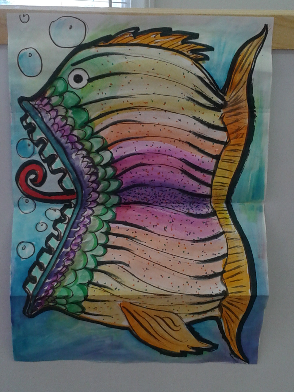 Expanded Fin-Tastic Mutating Fish #2