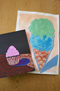YUM! - Thiebaud inspired