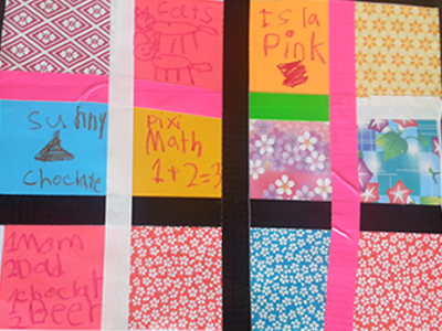 Grandparents Day Paper Quilt