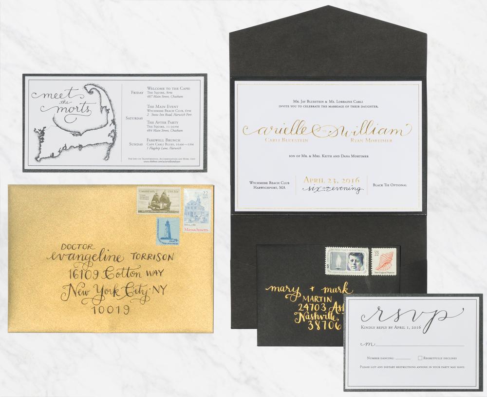 WEDDING INVITATIONS — Cristyn Hypnar Creative
