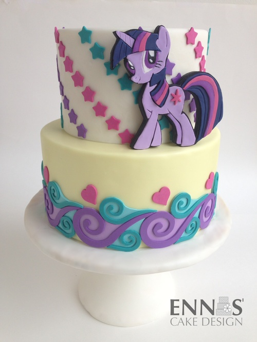 My Little Pony Ennas Cake Design