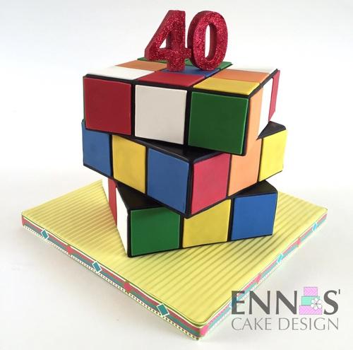 moving rubik s cube cake pdf tutorial ennas cake design