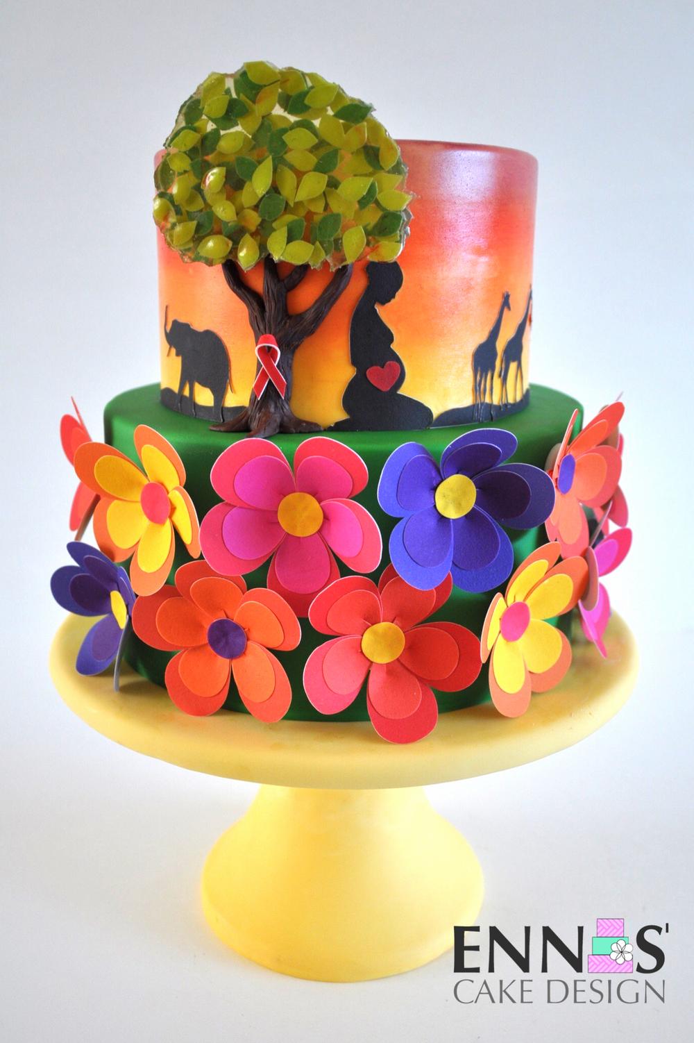 collaboration pieces ennas cake design