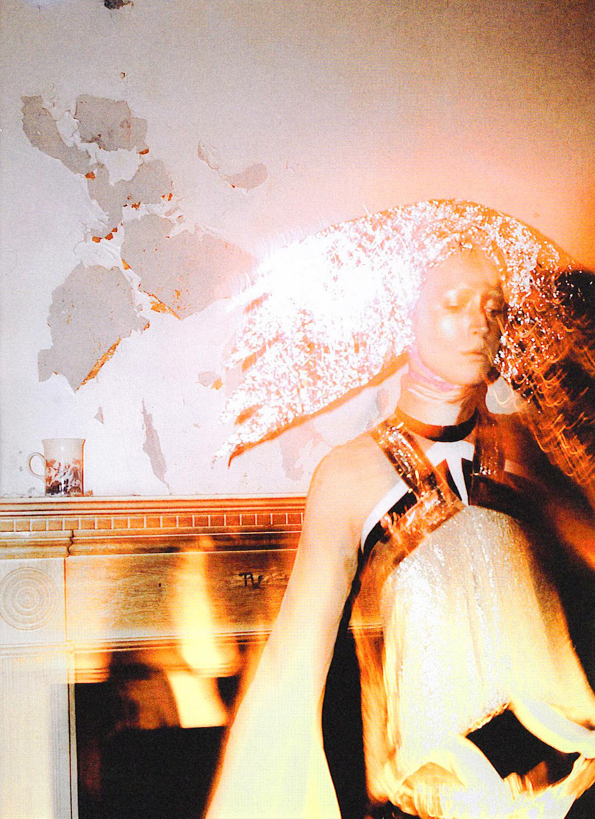 """Spellbound"" with Raquel Zimmermann + Lucia Pieroni + Guido Palau + Joe McKenna + V Magazine Frocks = Nicolas Ghesquière for Balenciaga"