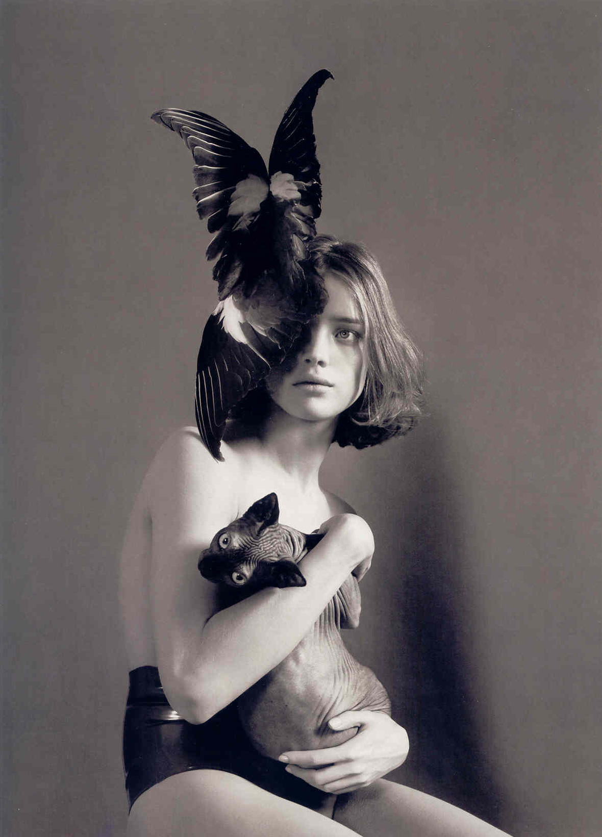 """Call of the Wild""   with Natalia Vodianova + Mert & Marcus + W Magazine   Frocks = Alexander McQueen"