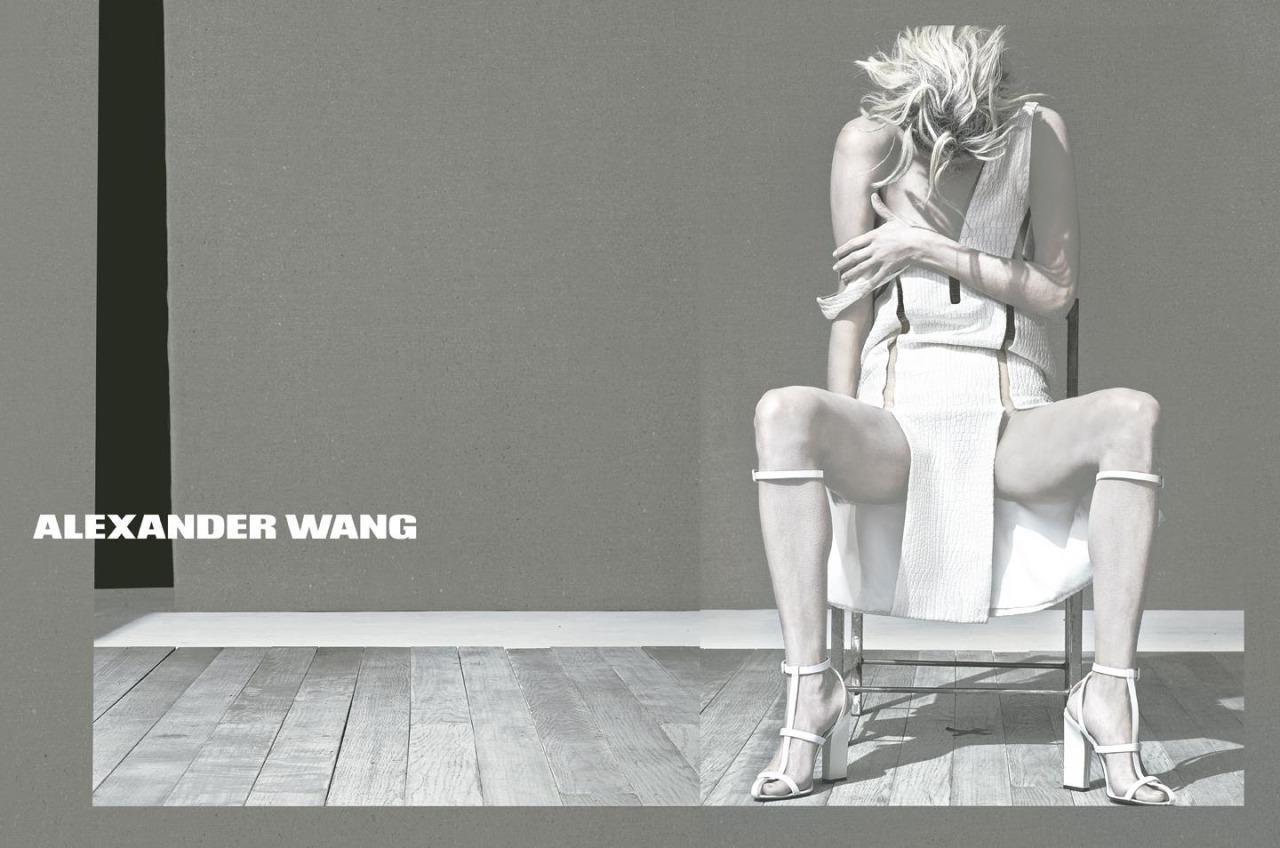 """Alexander Wang Spring Summer 2013 Campaign"" with Malgosia Bela + Steven Klein"