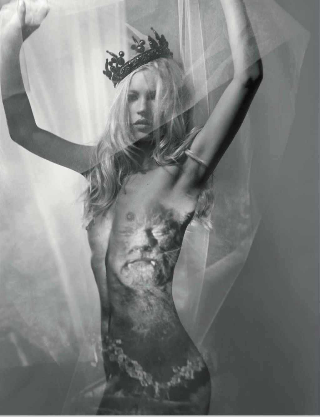 """The Nude in Vogue""   with Kate Moss + Craig McDean for Vogue Russia Special Edition"