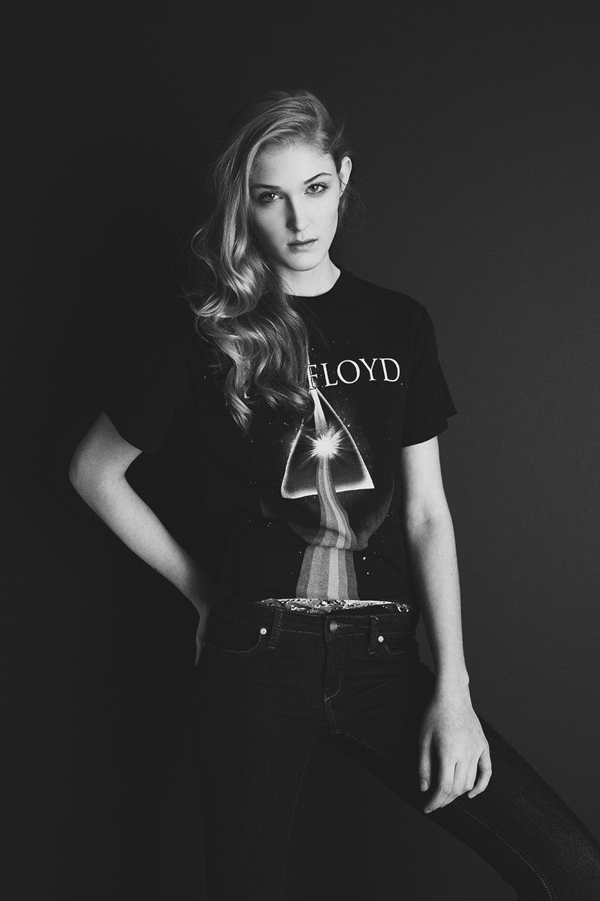 """Maddie"" at Wilhelmina Models Snapped by Benjamin Kwan hair + mua / Liz Dungate photography / Benjamin Kwan"