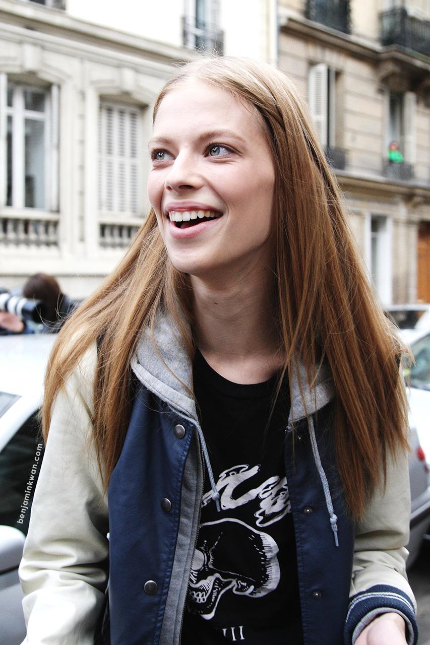 Lexi Boling at Chloe     SS 2014 Paris Snapped by Benjamin Kwan