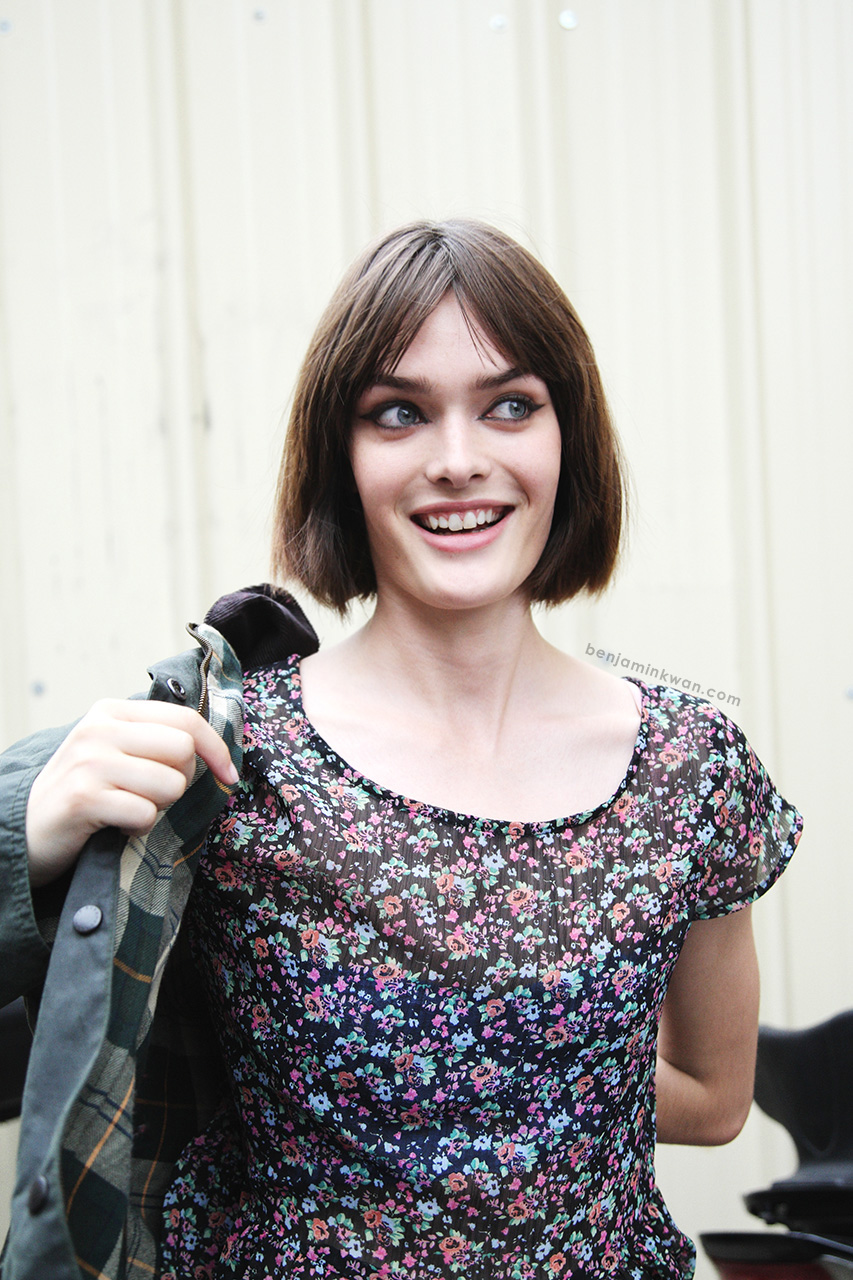 Sam Rollinson at Stella McCartney SS 2014 Paris Snapped by Benjamin Kwan