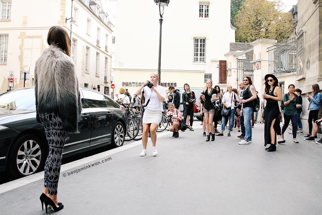 Ann Demeulemeester SS 2014 Paris Snapped by Benjamin Kwan Paris Fashion Week