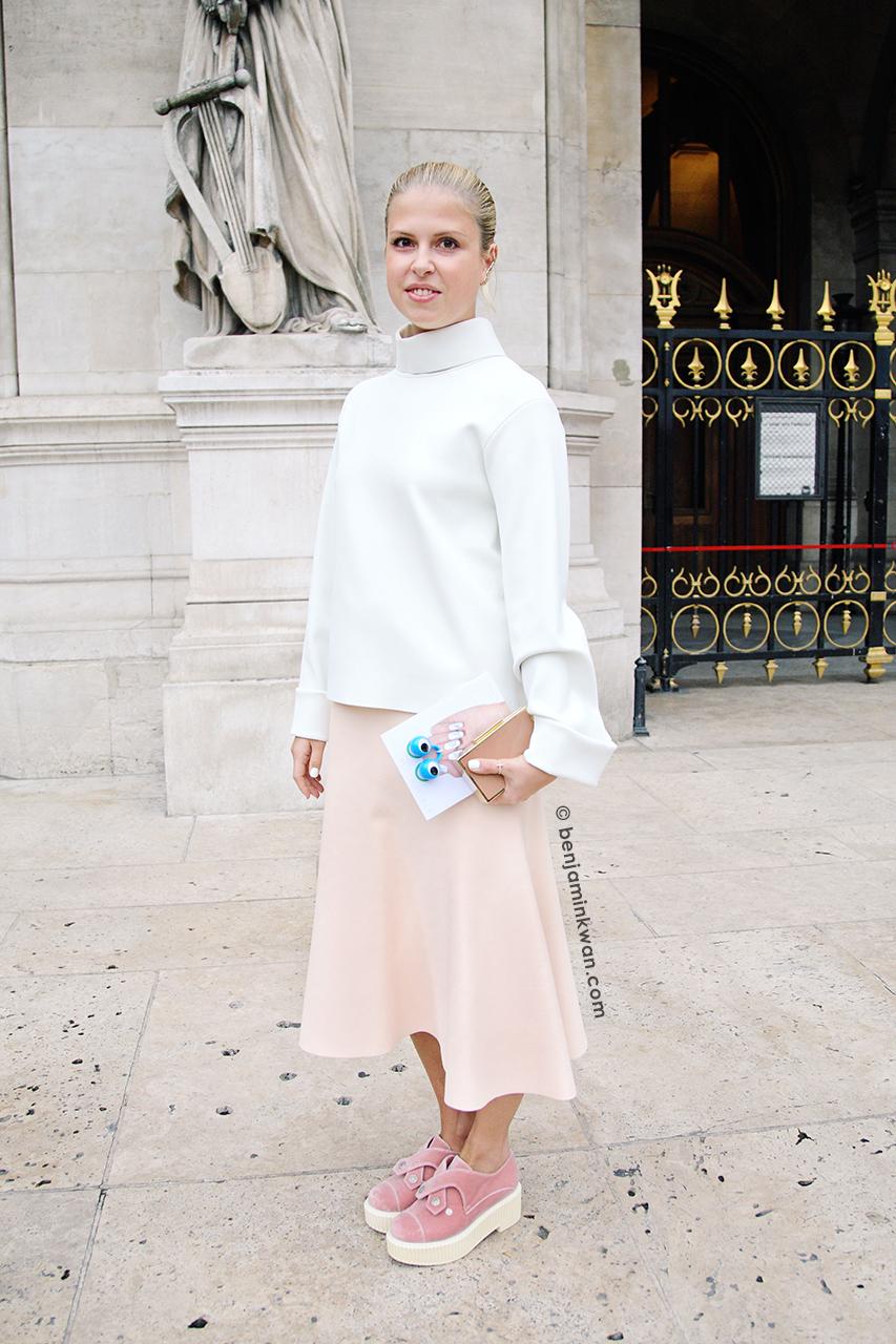 Stella McCartney SS 2014 Paris Snapped by Benjamin Kwan     Paris Fashion Week