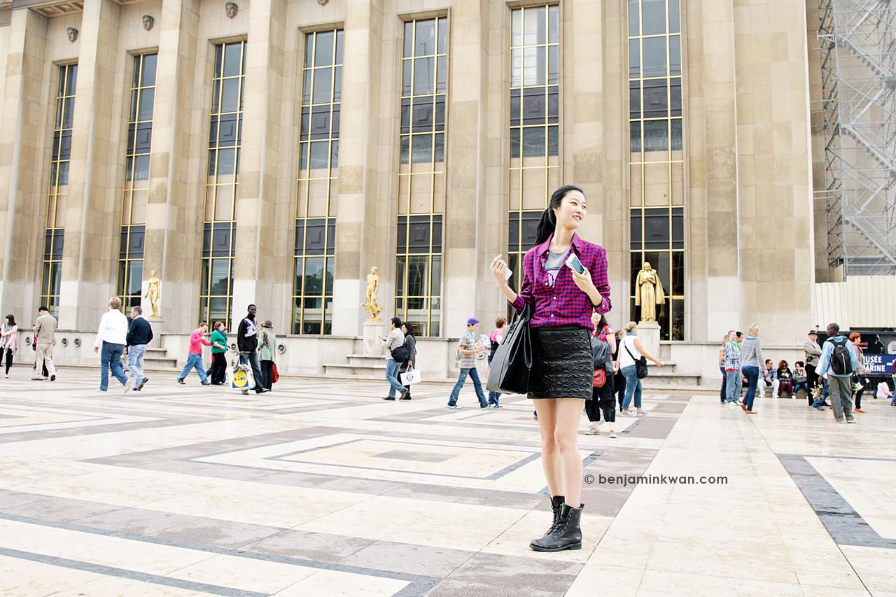 Ji Hye Park at Haider Ackermann SS 2014 Paris Snapped by Benjamin Kwan     Paris Fashion Week