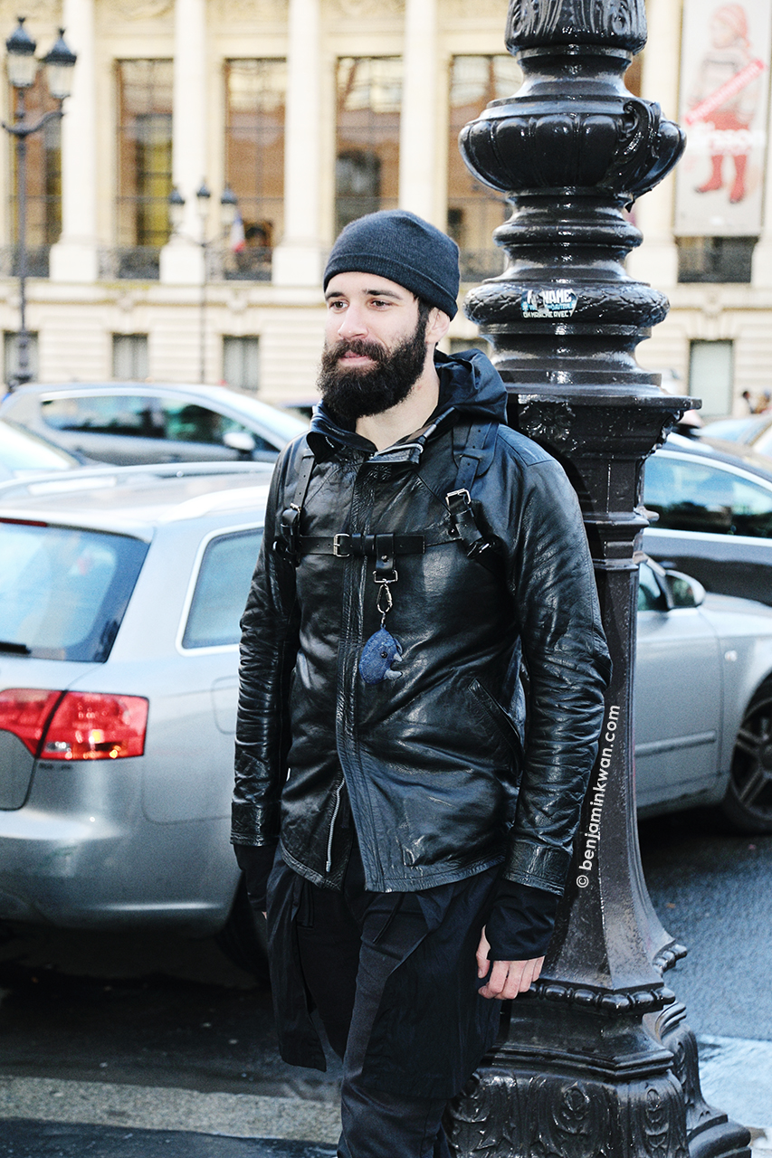 Adam Katz Sinding at Vanessa Bruno FW 2014 Paris Snapped by Benjamin Kwan     Paris Fashion Week