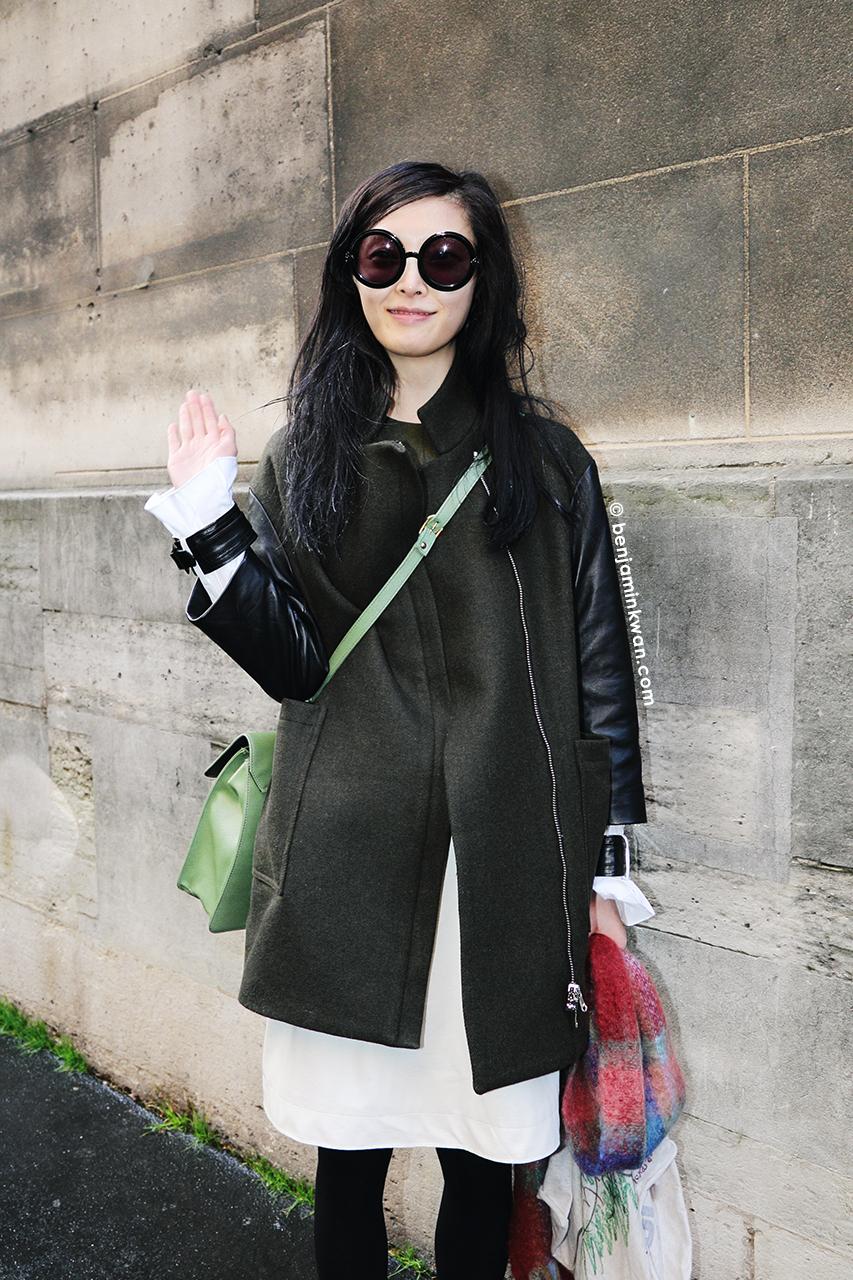 Sung Hee Kim at Vivienne Westwood     FW 2014 Paris Snapped by Benjamin Kwan Paris Fashion Week
