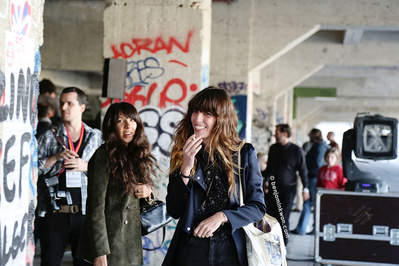 Lou Doillon at Anthony Vaccarello SS 2015  Paris Snapped by Benjamin KwanParis Fashion Week