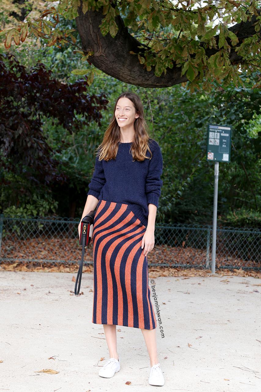 Alana Zimmer at Dries Van Noten SS 2015 Paris Snapped by Benjamin Kwan     Paris Fashion Week