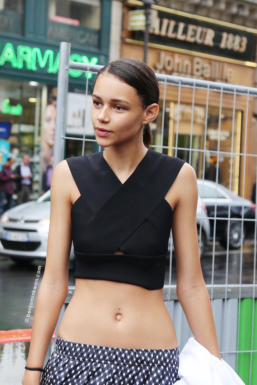 Binx Walton at Stella McCartney SS 2015 Paris Snapped by Benjamin Kwan Paris Fashion Week