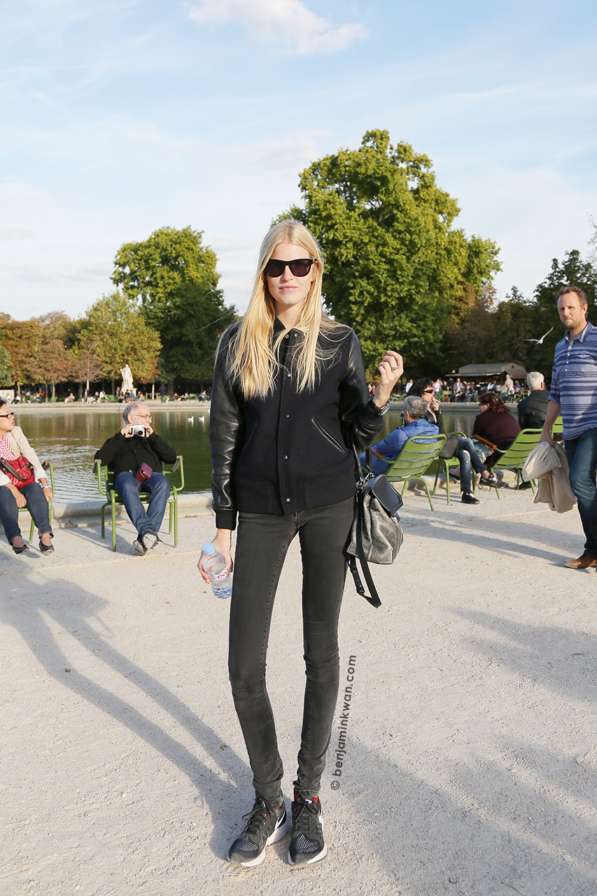 Louise Parker at Nina Ricci SS 2015 Paris Snapped by Benjamin Kwan Paris Fashion Week
