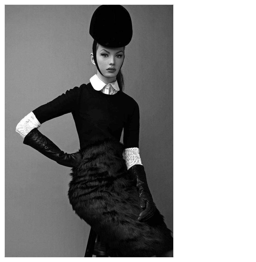 """""""Divine Elegance,""""  S chon Magazine = Astrid + Gordana Zlatanovic + Bo Brinkenfalk"""