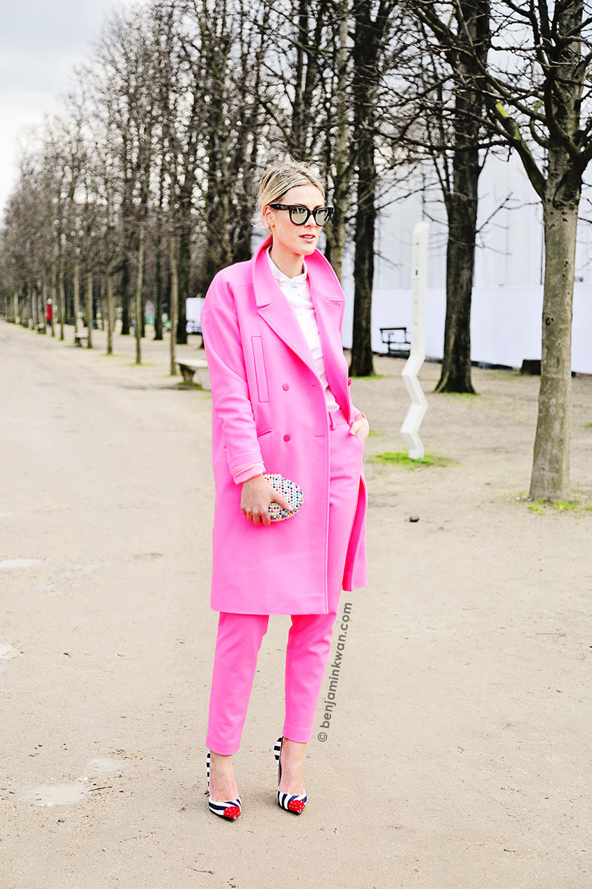 Sofie Valkiers at Viktor & Rolf FW 2014 Paris Snapped by Benjamin Kwan     Paris Fashion Week