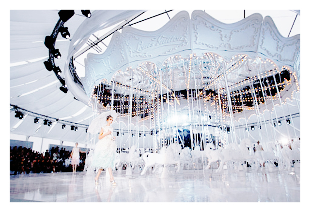 Louis Vuitton Spring 2012 Ready-to-Wear   = Magda Laguinge + Fei Fei Sun + Marc Jacobs + Paris