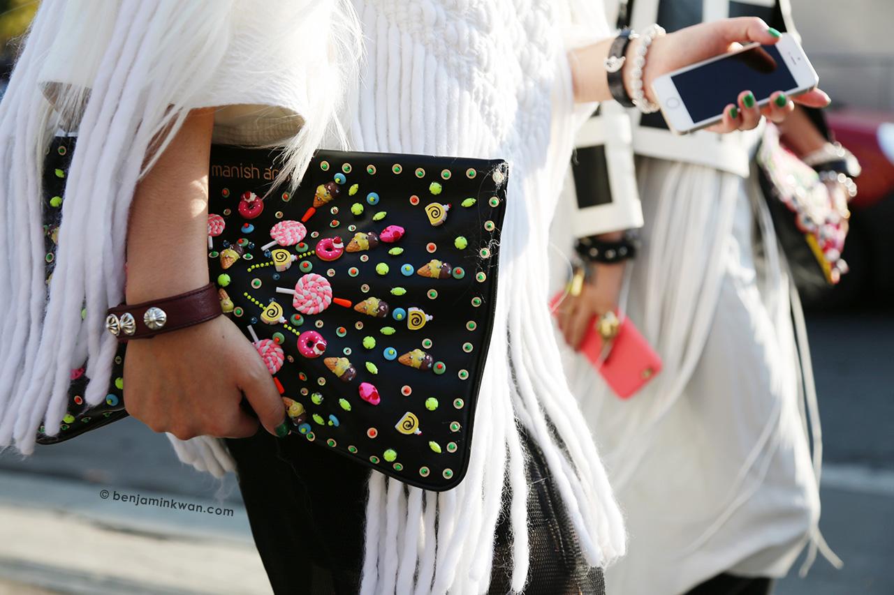Chanel SS 2015 Paris Snapped by Benjamin Kwan Paris Fashion Week
