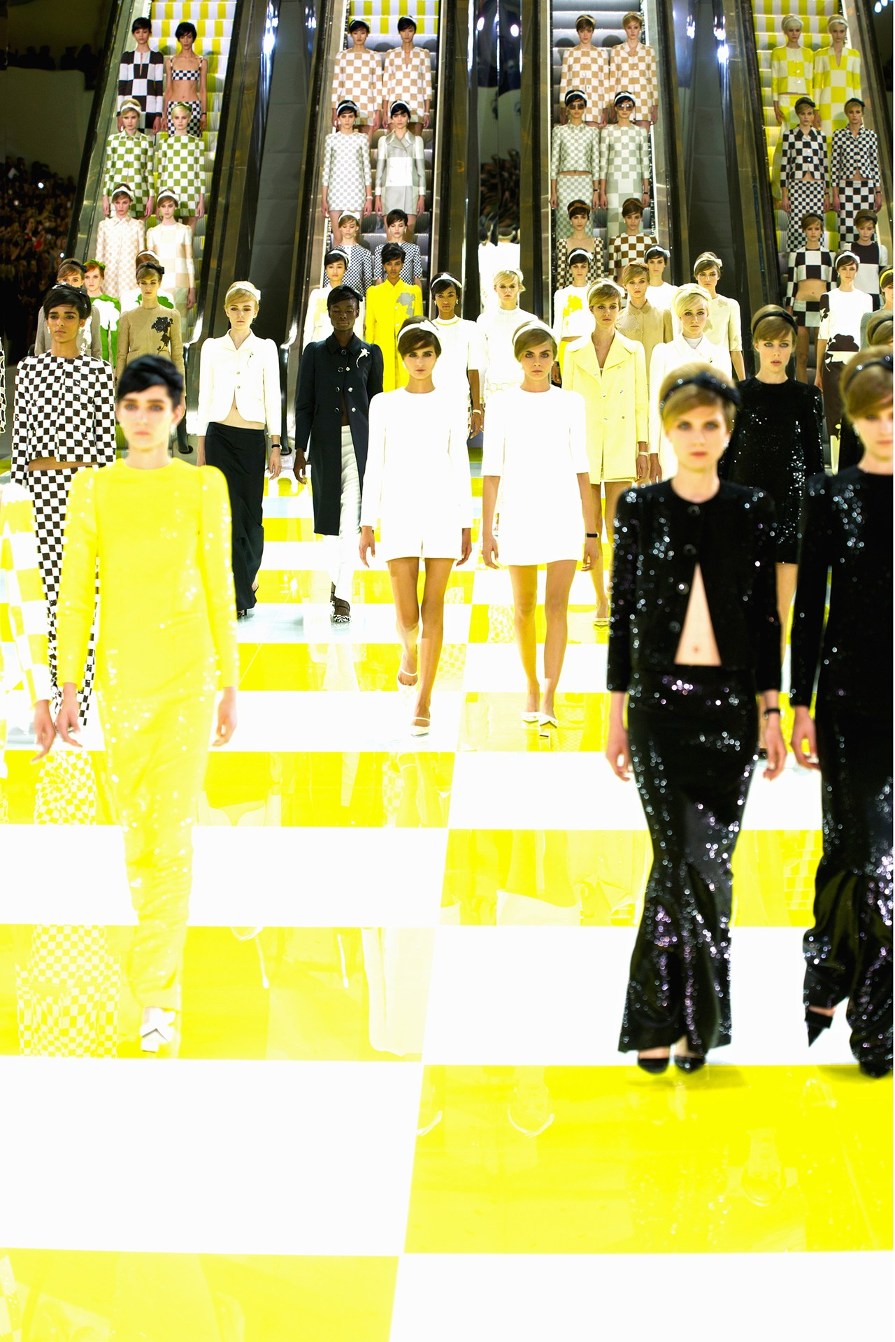 """Louis Vuitton Spring Summer RTW 2013 Paris"""