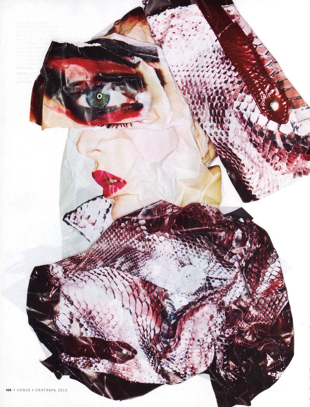 Codie Young + Natasha Royt + Sil Bruinsma + Ben Hassett + Vogue Russia