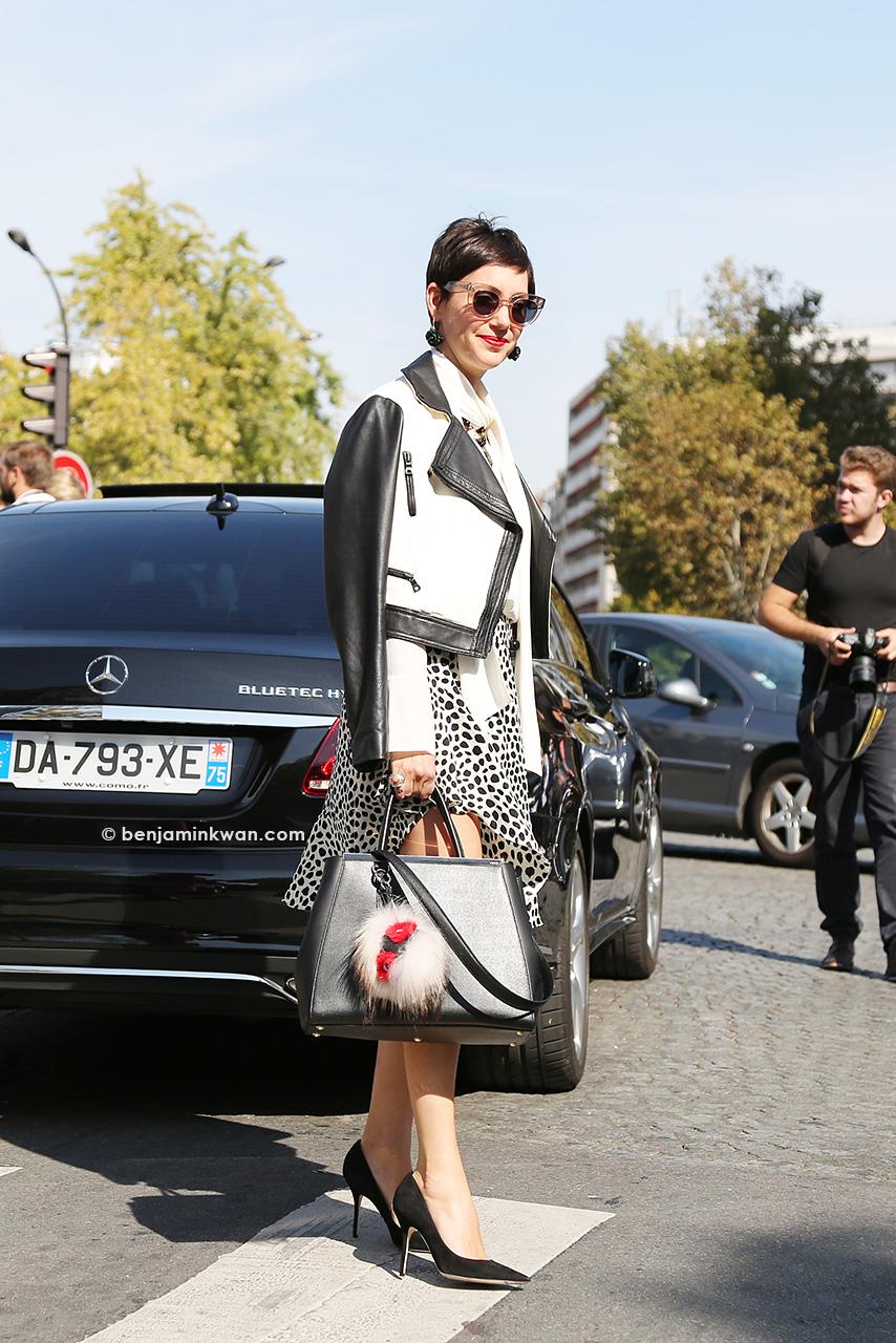 Celine SS 2015 Paris Snapped by Benjamin Kwan Paris Fashion Week 2015