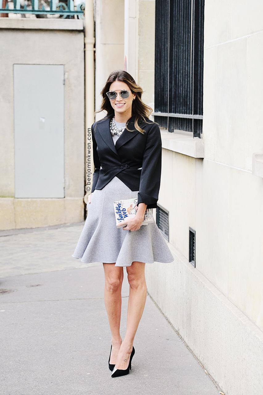 Helena Bordon at Dior     FW 2014 Paris Snapped by Benjamin Kwan Paris Fashion Week