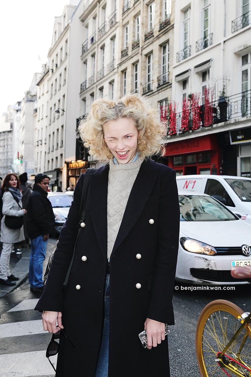 Lys Inger at Vivienne Westwood     FW 2014 Paris Snapped by Benjamin Kwan     Paris Fashion Week