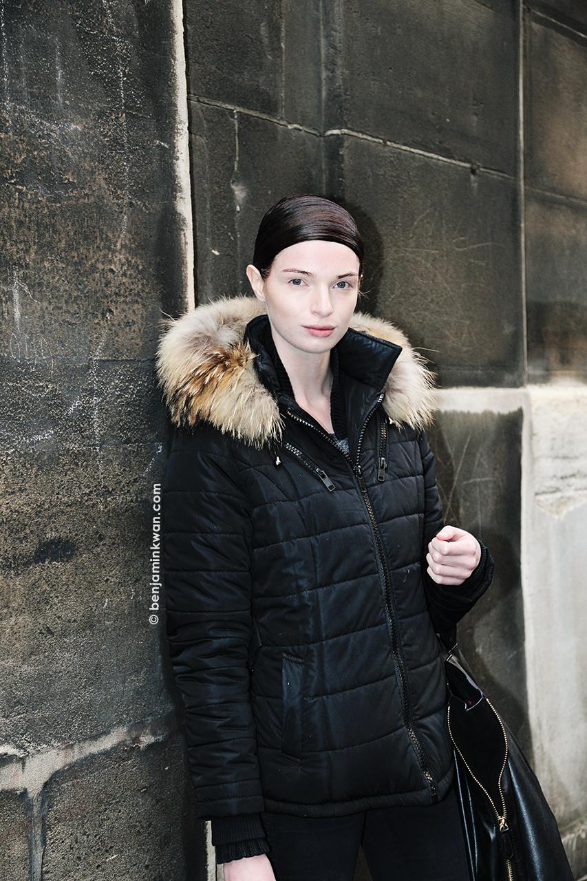 Linnea Ahlman   at Vivienne Westwood     FW 2014 Paris Snapped by Benjamin Kwan Paris Fashion Week