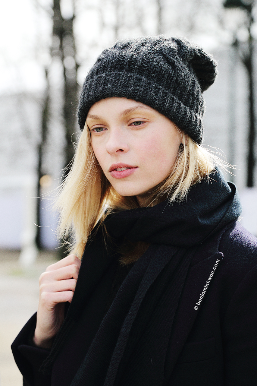 Lys Inger at Issey Miyake FW 2014 Paris Snapped by Benjamin Kwan Paris Fashion Week