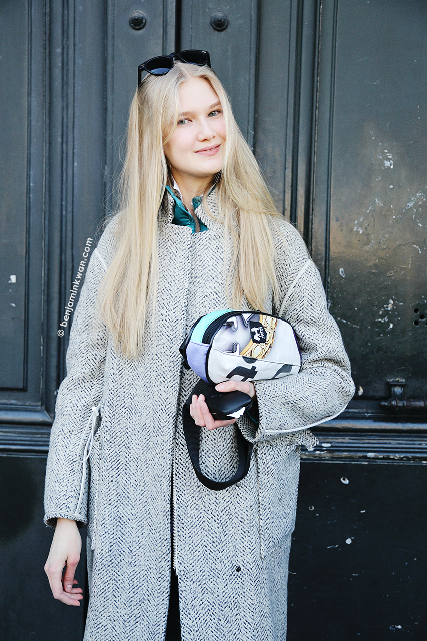 Anna Martynova at Andrew Gn FW 2014 Paris Snapped by Benjamin Kwan Paris Fashion Week