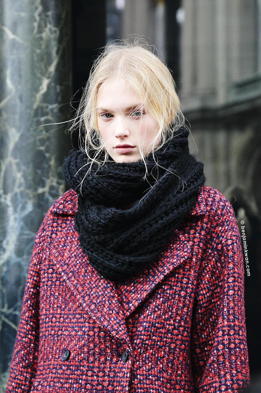 Charlene Högger at Stella McCartney FW 2014 Paris Snapped by Benjamin Kwan     Paris Fashion Week