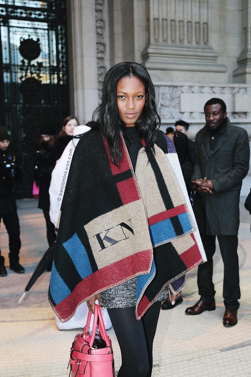 Kai Newman at Vanessa Bruno FW 2014 Paris Snapped by Benjamin Kwan Paris Fashion Week