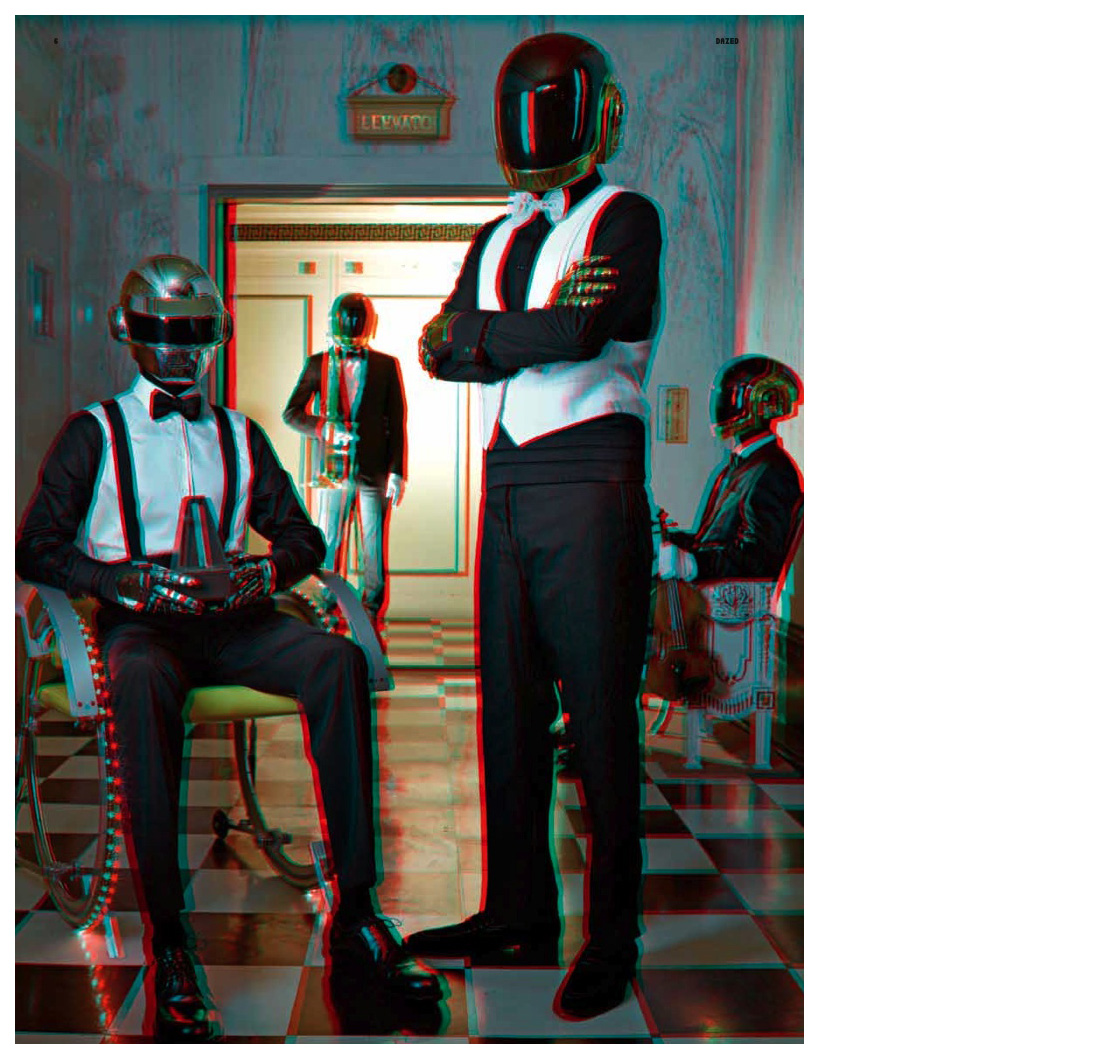 "Daft Punk + Robbie Spencer + Sharif Hamza = ""I, Robot"" Dazed & Confused circa 2010"