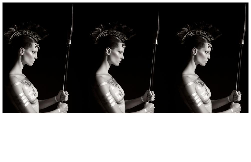 "Karl Lagerfeld + Iris Strubegger = ""  Mythology  "" Pirelli Calendar 2011"