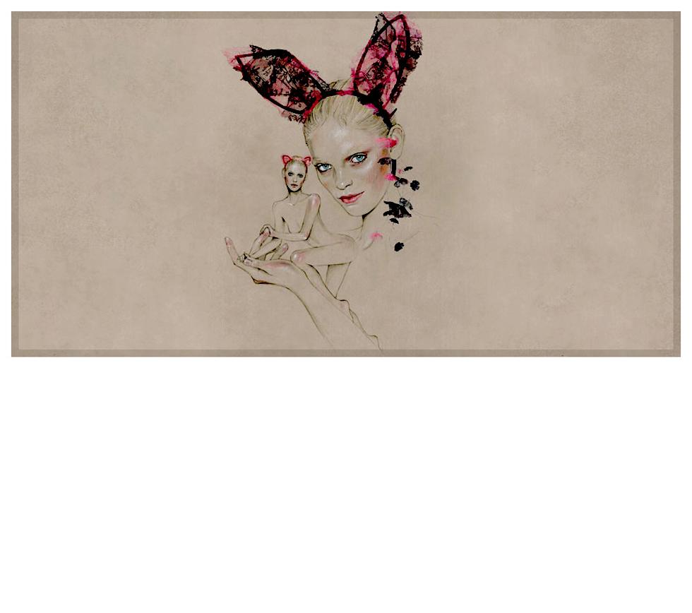 Maison Michel SS 2010 Ad Campaign = Heidi Mount + Laetitia Crahay + Cédric Rivrain Frocks = Maison Michel