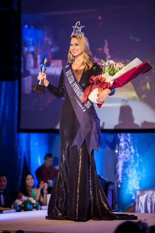 Crowned as Miss SCUBA International 2014