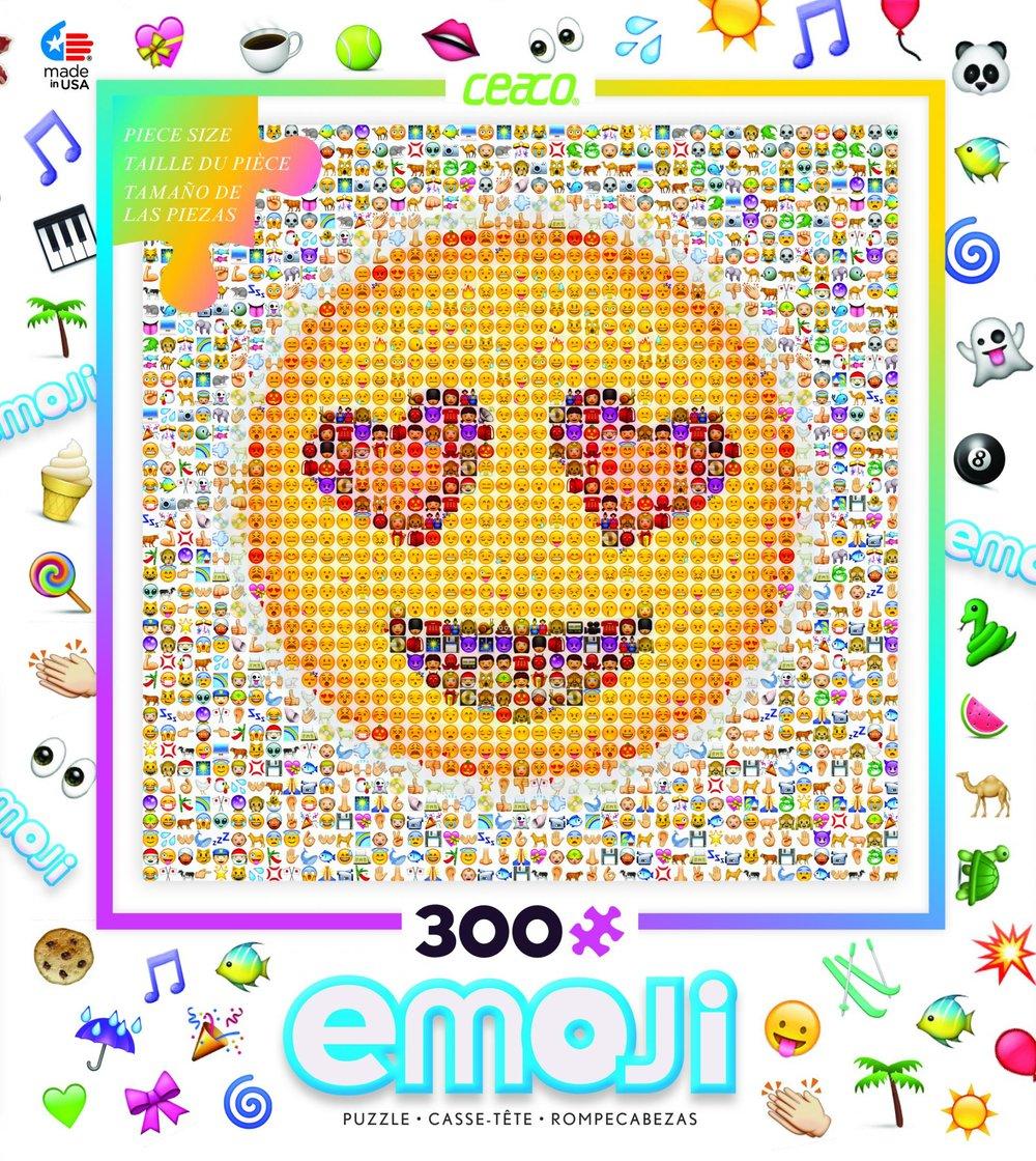 Emoji 300 Piece Puzzle