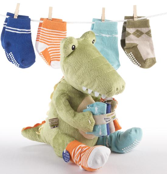 Croc In Socks